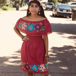 Dresses & Skirts - Mexican embroidered dress